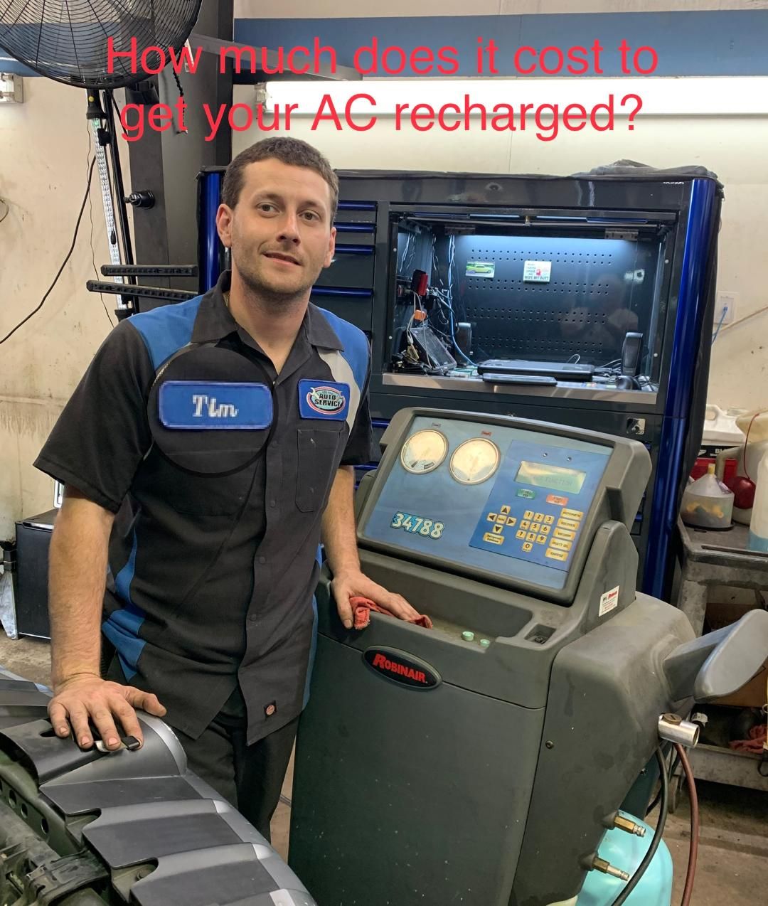 How Much Does It Cost To Get Your AC Recharged? At